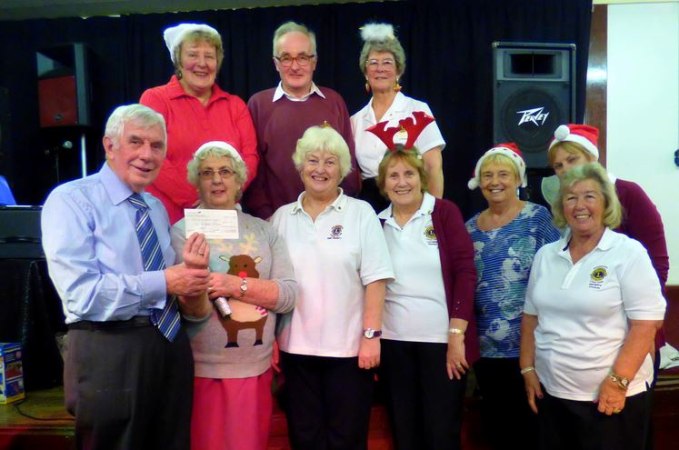 Holderness Lions Legion Cheque