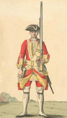 Soldier 30th Regt from 1742
