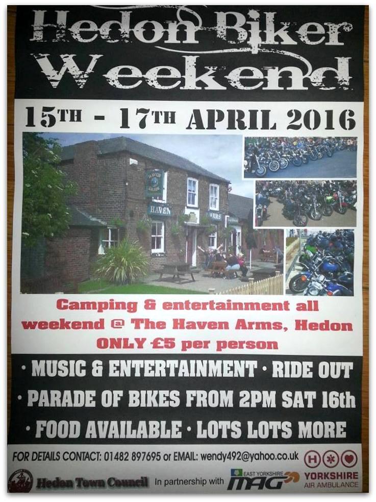 Hedon Biker Weekend