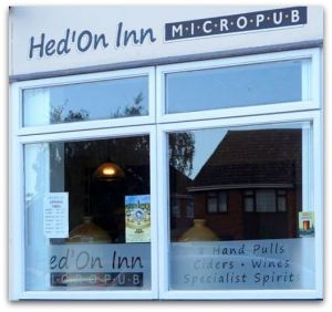 Hedon Inn window