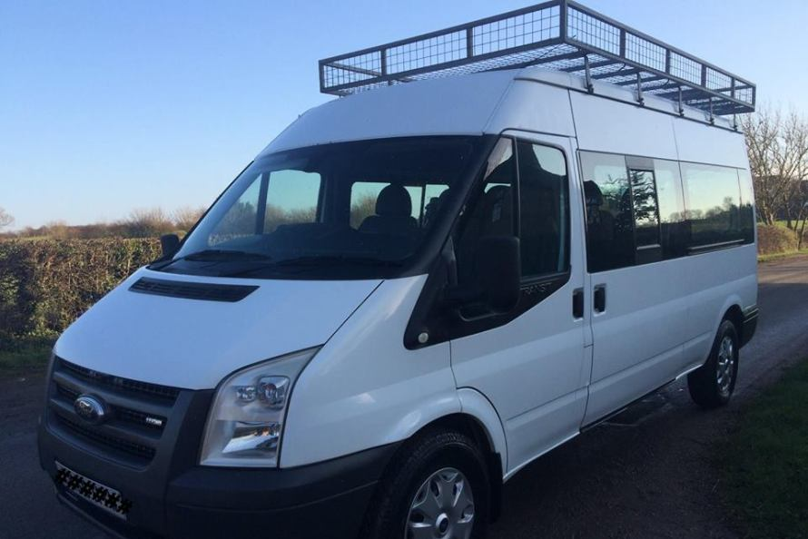 Mini-bus similar to the one Hedon Scouts aim to get