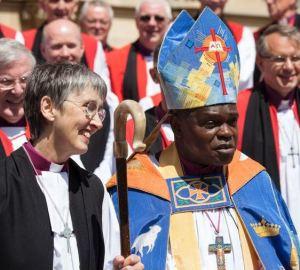 Archbishop Sentamu with Bishop White Duncan Lomax Ravage Productions