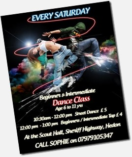 Dance Classes Saturday Scout Hall
