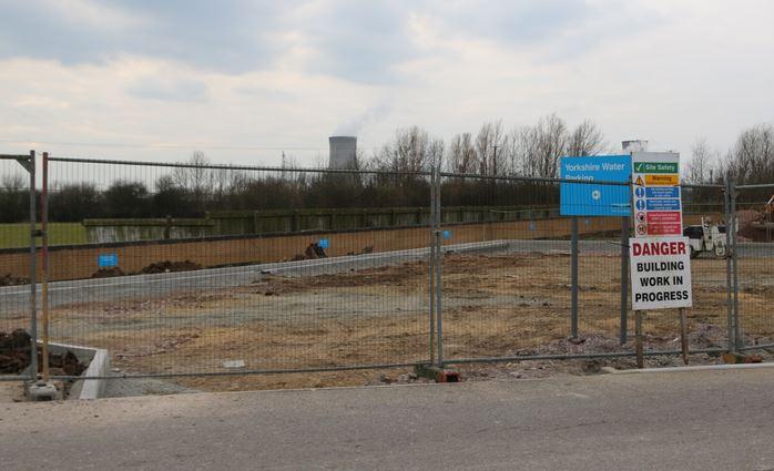 Car park under construction