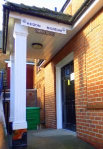 Hedon Museum - Entrance