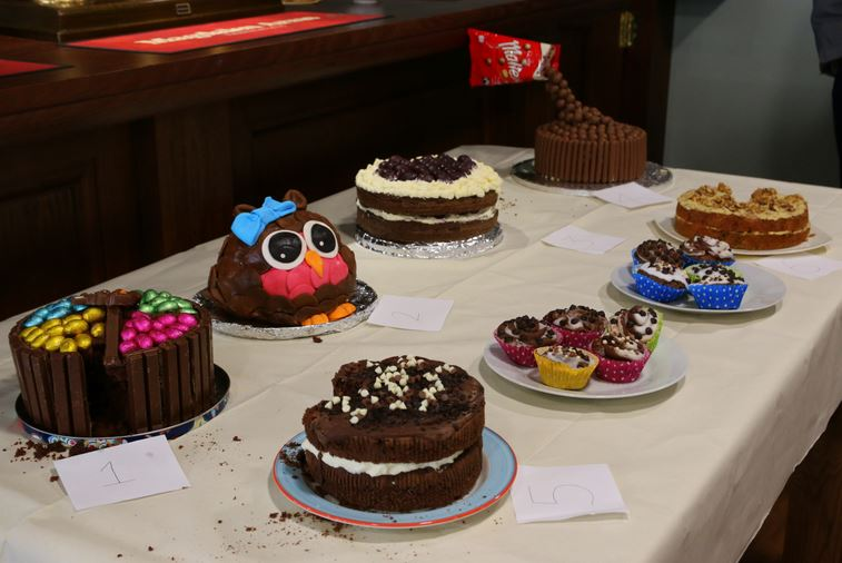 Magdalen Bake Off entries
