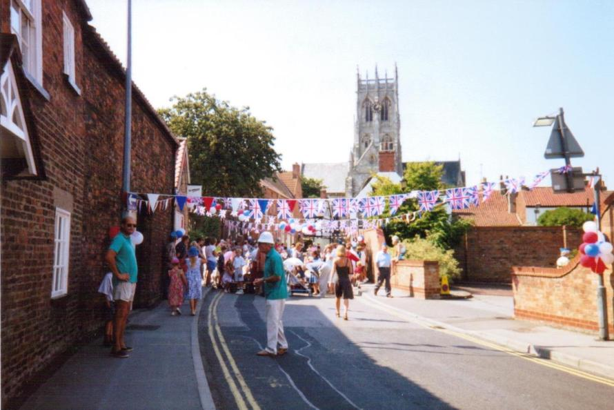 Magdalen Gate street party - c/o Tony Porter