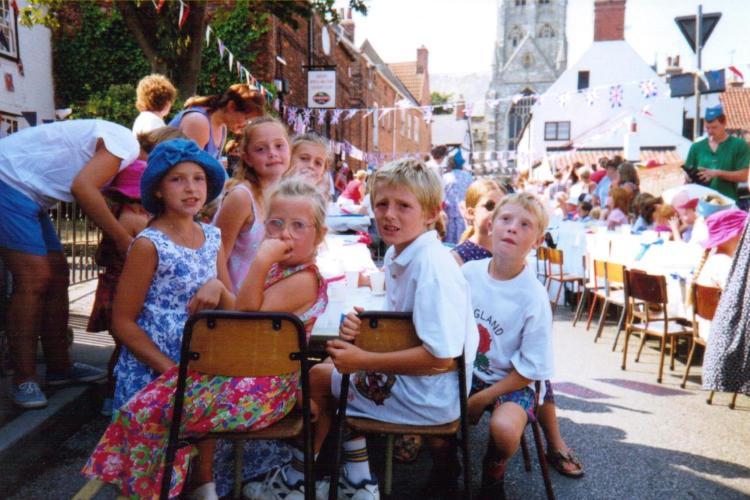 Magdalen Gate street party - c/o Tony Porter