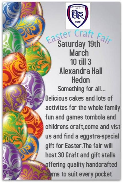 Pythons Easter Craft Fair