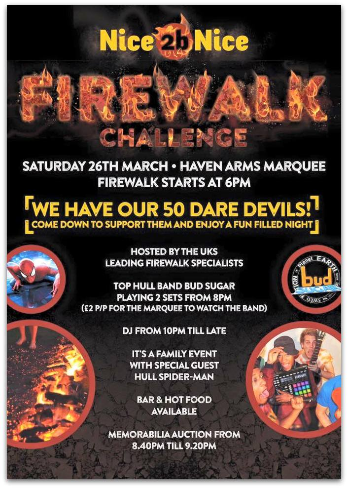Firewalking Poster