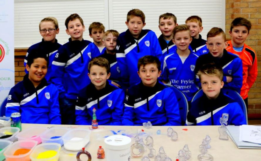 Hedon Pythons football team Easter Fair