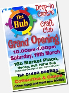 Hub grand opening