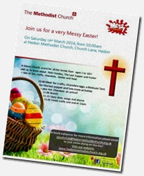 Messy Church Easter 16