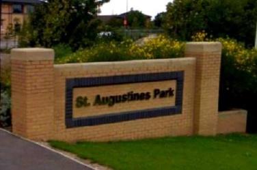 St Augustine's Park Sign