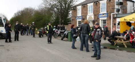 Bikers at Haven