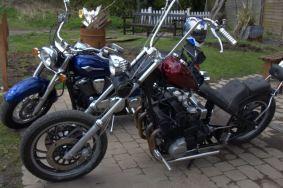 Brazier and bikes