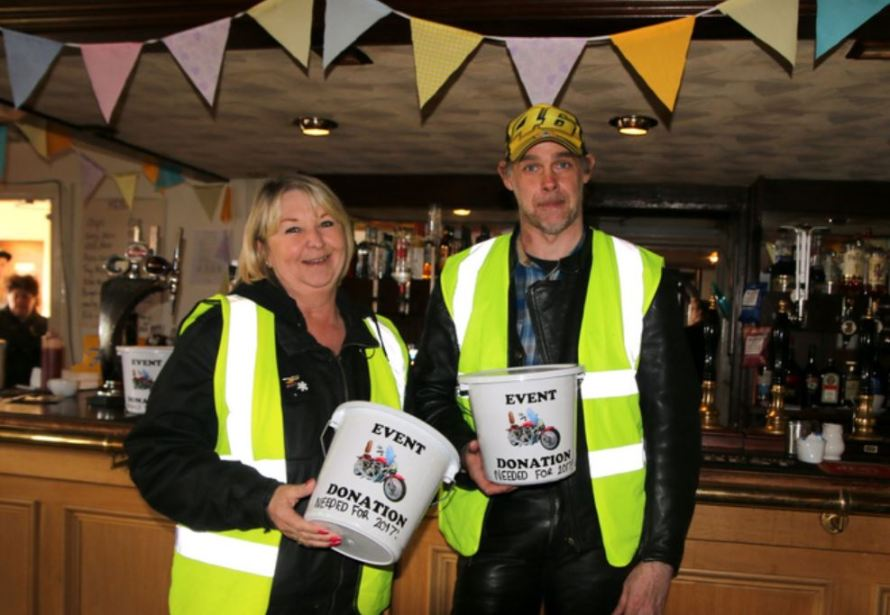 Cllr Di Storr and Mike Ovenden
