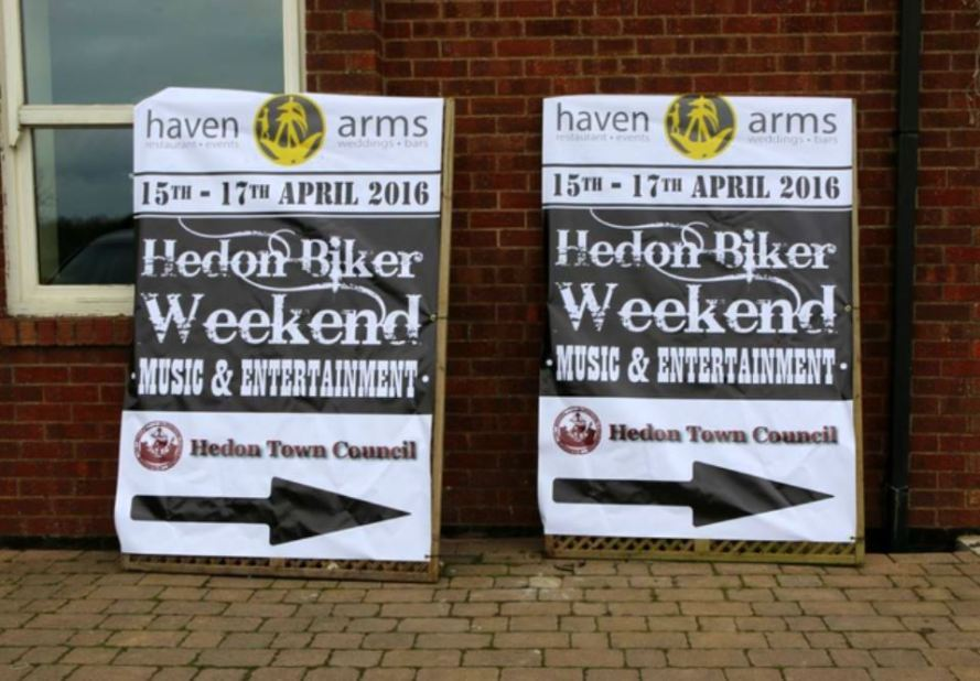 Haven Arms Biker Posters