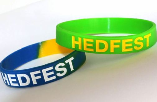 HedFest wristbands