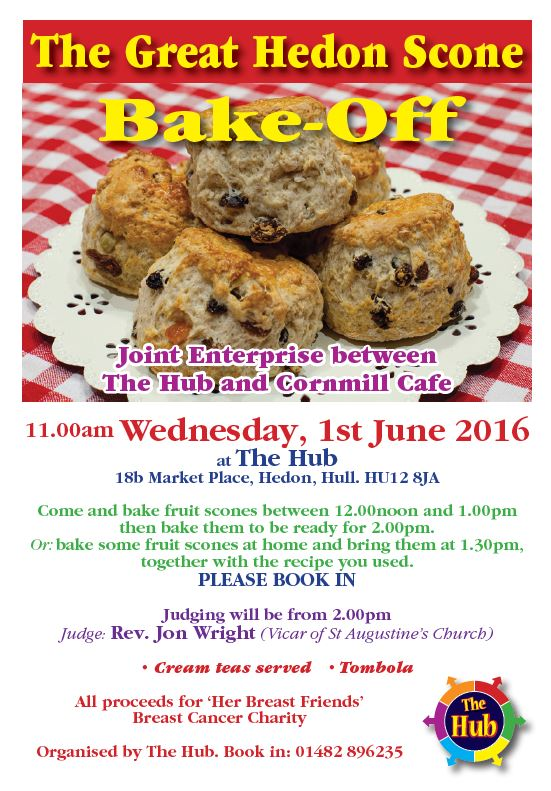 Hedon Scone Bake off