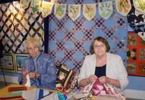 Jane McMillan and Anita Kay Fireside Quilters