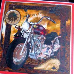 Motorbike card