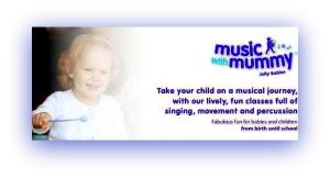 Music with Mummy class poster