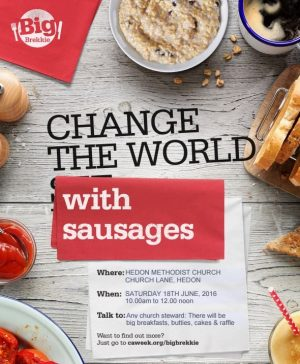 Change world with Sausages