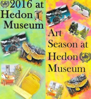 Hedon Museum Poster 2016