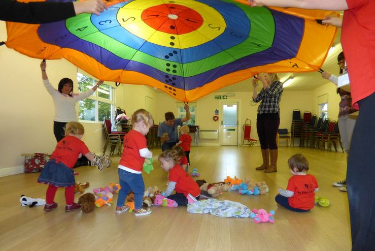 Parachute Playtime Fun