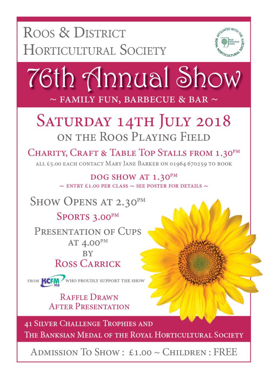Roos Annual Show