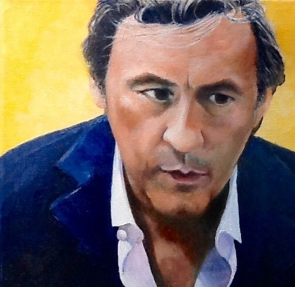 Andrew Graham Dixon by Cynthia Ward