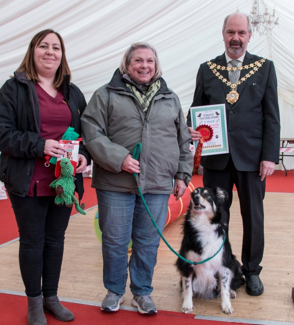 Kathryn Acres and Swift Obstacle Course winner