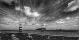 DP1 Penmon Lighthouse and Puffin Island, Anglesey David Prideaux